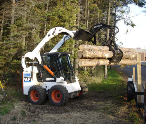 Skid Steer/Mini Excavator Attachments Products | Builtrite